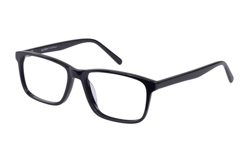 Eyecraft Brooks men's black glass frames