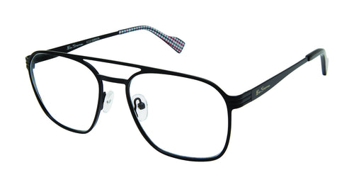 Ben Sherman Aldgate men's black glass frames