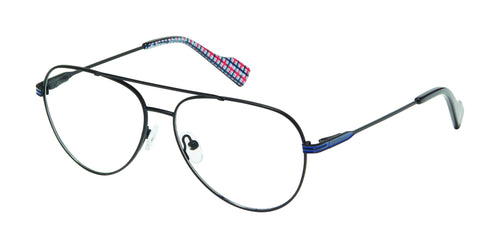 Ben Sherman Alexander men's black glass frames