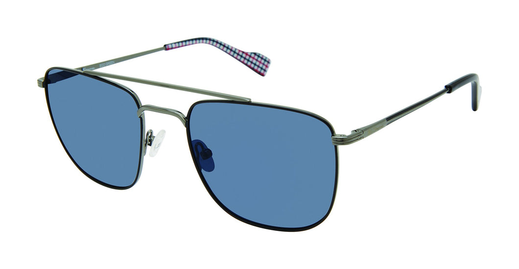 Ben Sherman Barking men's gunmetal sunglass frames