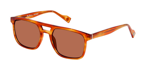 Ben Sherman Grange men's brown grain sunglass frames