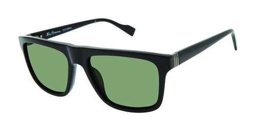 Ben Sherman Kings men's black sunglass frames