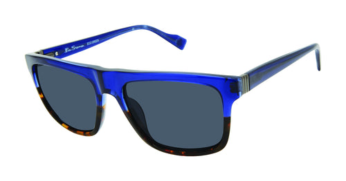 Ben Sherman Kings men's blue tortoise sunglass frames
