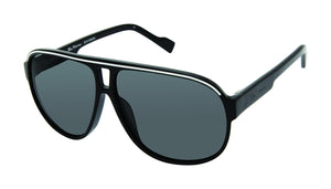Ben Sherman London men's black sunglass frames