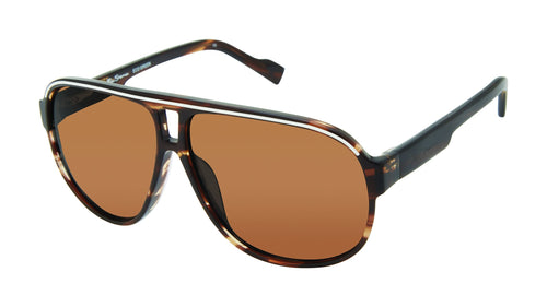 Ben Sherman London men's tortoise sunglass frames