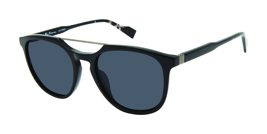 Ben Sherman Queensway men's black sunglass frames