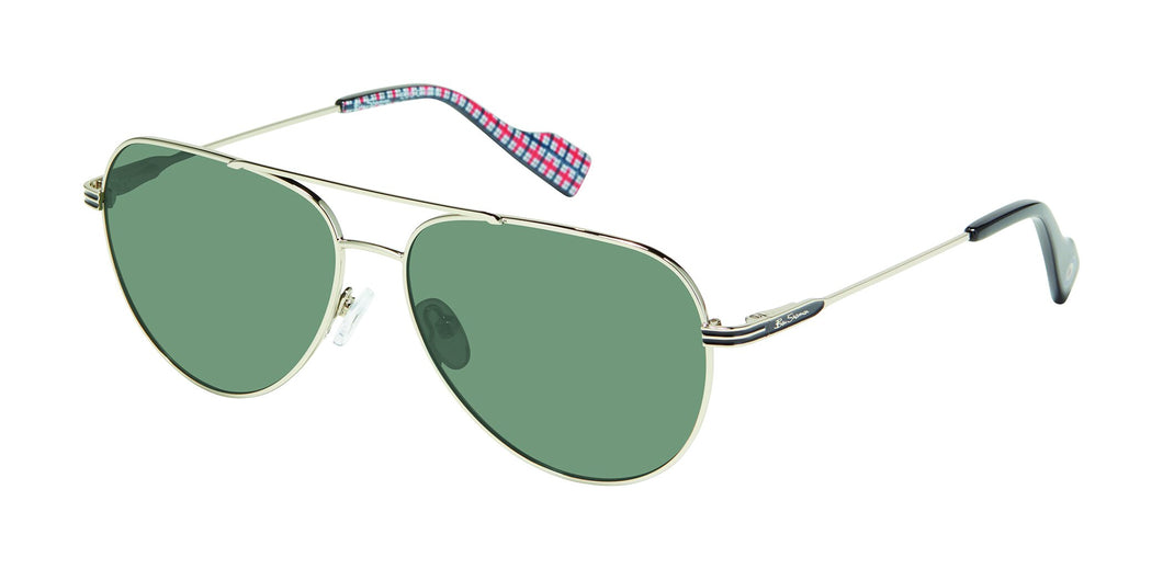Ben Sherman Shaftsbury men's silver sunglass frames