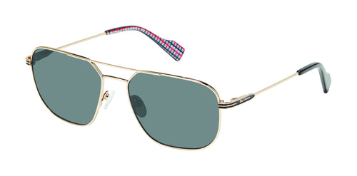 Ben Sherman St Johns men's gold sunglass frames
