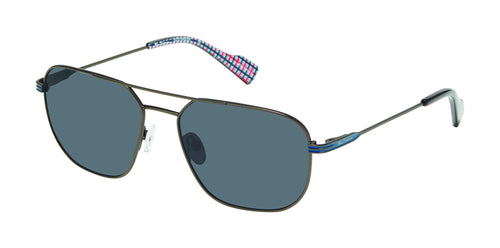 Ben Sherman St Johns men's gunmetal sunglass frames
