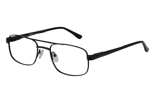 Eyecraft Caleb men's black glass frames