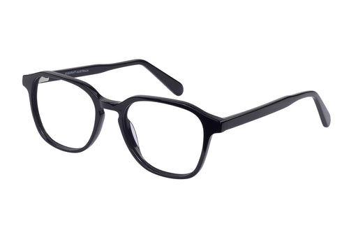 Eyecraft Chase unisex black glass frames