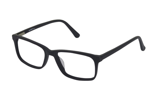 Eyecraft Clang kids black blue glass frames