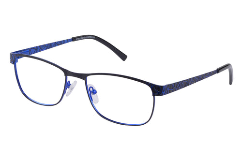 Eyecraft Coco womens black blue glass frames