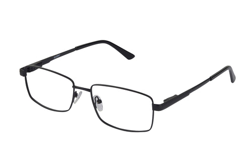 Eyecraft Cullan men's black glass frames