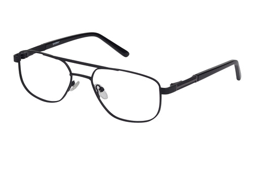 Eyecraft Daniel men's black gunmetal glass frames