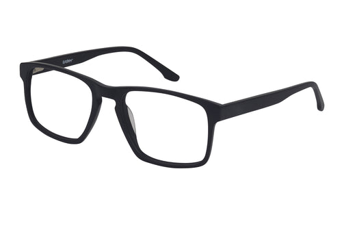 Eyecraft Daredevil men's black glass frames