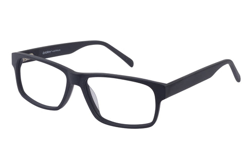 Eyecraft Dodge men's black glass frames