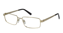 Eyecraft Ernest men's gold glass frames