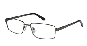 Eyecraft Ernest men's gunmetal glass frames