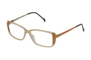 Eyecraft Estelle womens brown glass frames