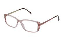 Eyecraft Estelle womens burgundy glass frames