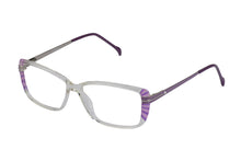 Eyecraft Estelle womens purple glass frames