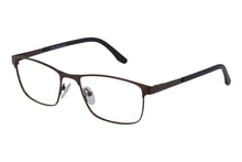 Rave Ferguson men's brown glass frames