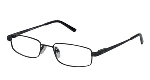 Eyecraft Frenzy unisex black glass frames