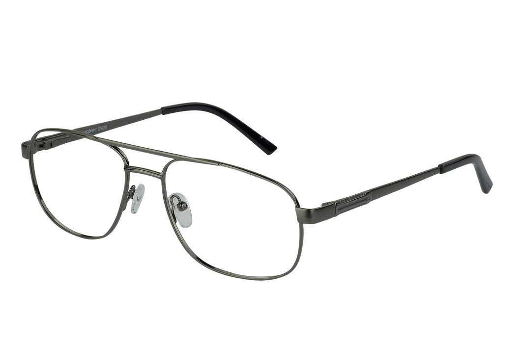 Eyecraft Grumman men's gunmetal glass frames