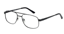 Eyecraft Grumman men's black glass frames