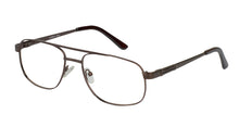 Eyecraft Grumman men's brown glass frames