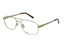 Eyecraft Grumman men's gold glass frames