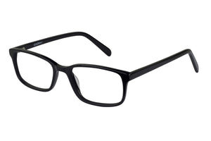 Eyecraft Harper men's black glass frames