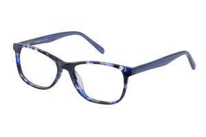Eyecraft Heidi womens blue glass frames