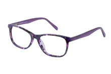 Eyecraft Heidi womens purple glass frames
