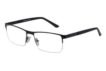 Rave Hubble men's black glass frames