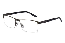 Rave Hubble men's gunmetal glass frames
