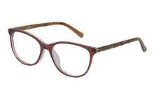 Eyecraft Jocelyn womens brown glass frames