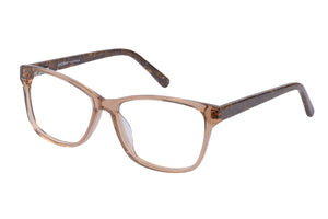 Eyecraft Josie womens brown glass frames