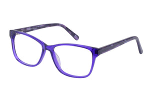 Eyecraft Josie womens blue glass frames