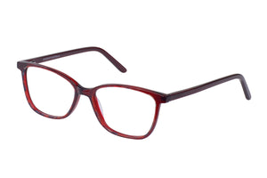 Eyecraft Kona womens claret glass frames
