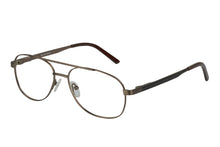 Titanium Lachlan men's bronze glass frames