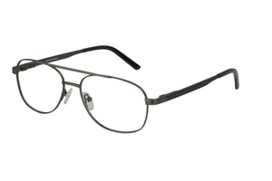 Titanium Lachlan men's gunmetal glass frames