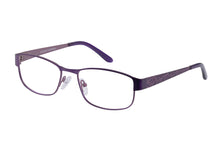 Eyecraft Lola womens purple glass frames