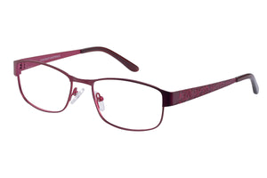 Eyecraft Lola womens red glass frames