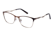Eyecraft Luna womens brown glass frames