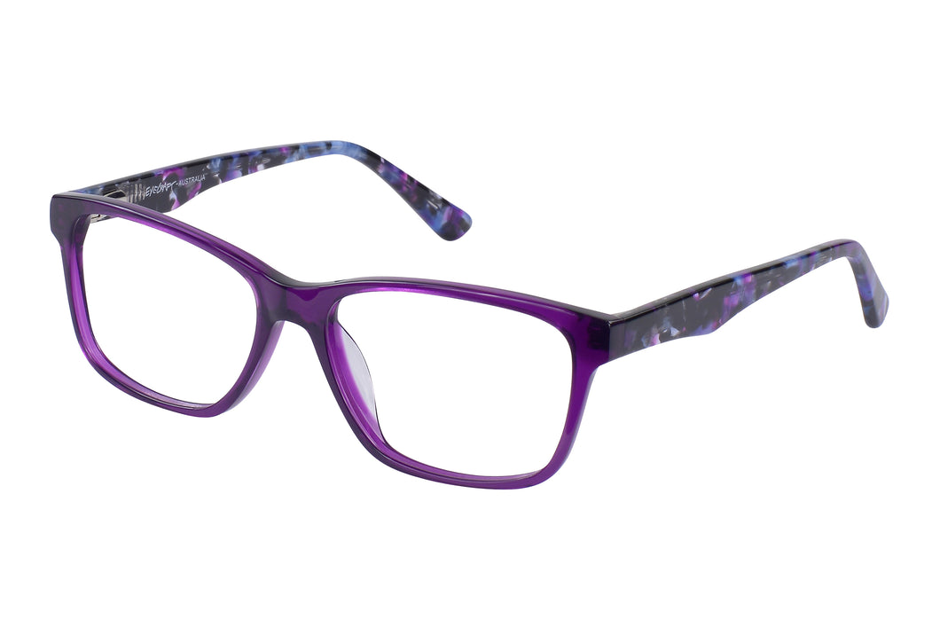 Eyecraft Macy womens purple glass frames