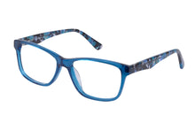 Eyecraft Macy womens blue glass frames