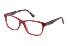 Eyecraft Macy womens red glass frames
