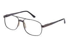 Eyecraft Malcolm men's gunmetal bronze glass frames